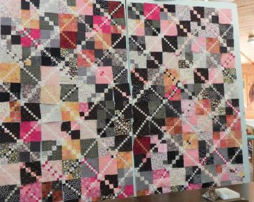 One inch blocks quilt