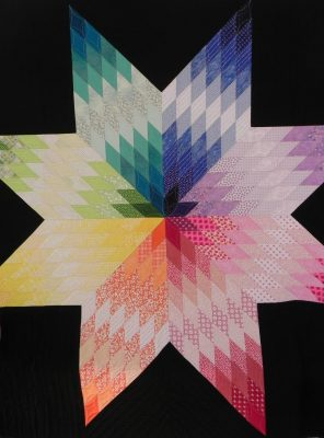 Quilt Design class colorwheel quilt