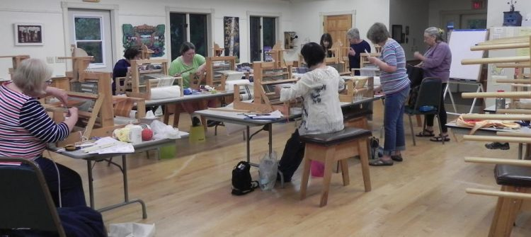 Beginning Weaving Table Loom Class