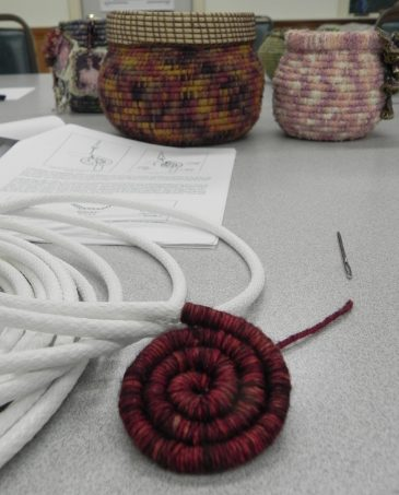 Coiled Basketry Start