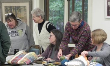 Knitters Visit11