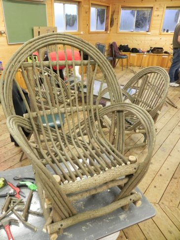 Willow Chairs finished